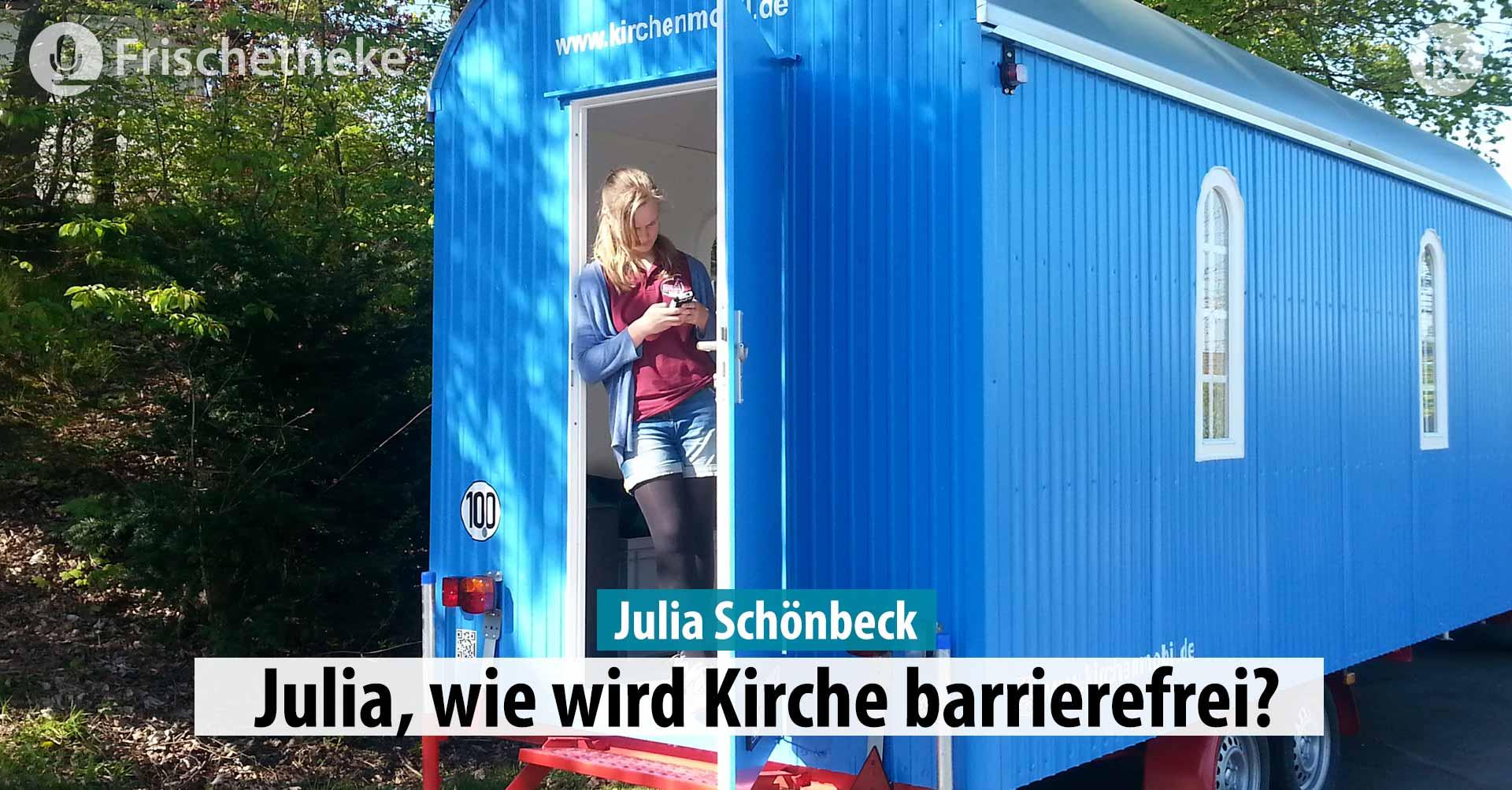 46 – Julia Schönbeck, wie wird Kirche barrierefrei?